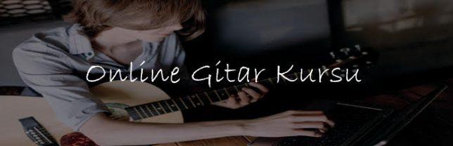 Online Gitar Kursu